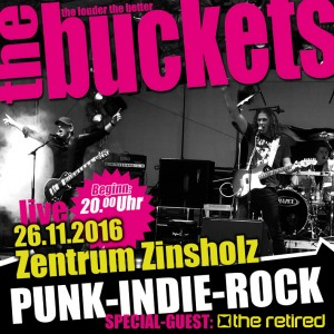 The Buckets Zz Webflyer 2016-300x300 in Konzert