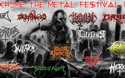 Exhume – The Metal Festival IV