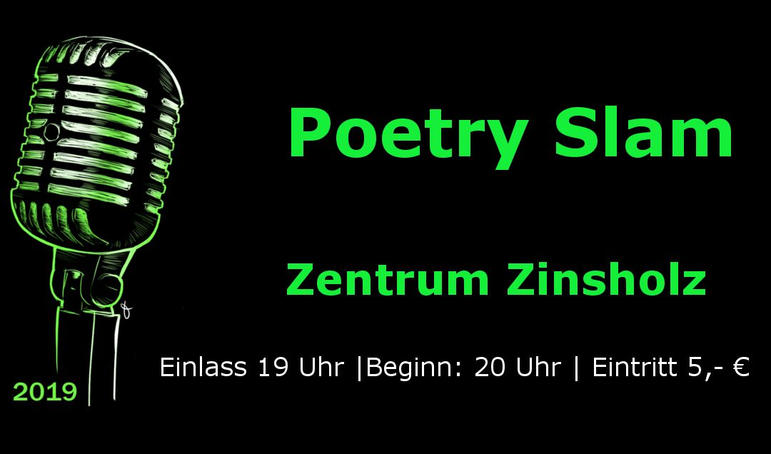 Poetry Slam 26. April