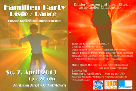 Familien Disco 7. April