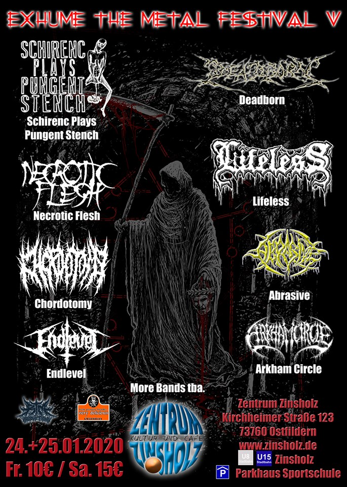 Exhume The Metal Festival V